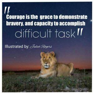 courage k