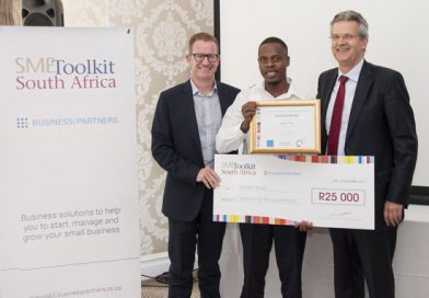 Freddy Sibuyi, crowned national winner SME Toolkit Global Entrepreneurship Week's Business Plan Competition