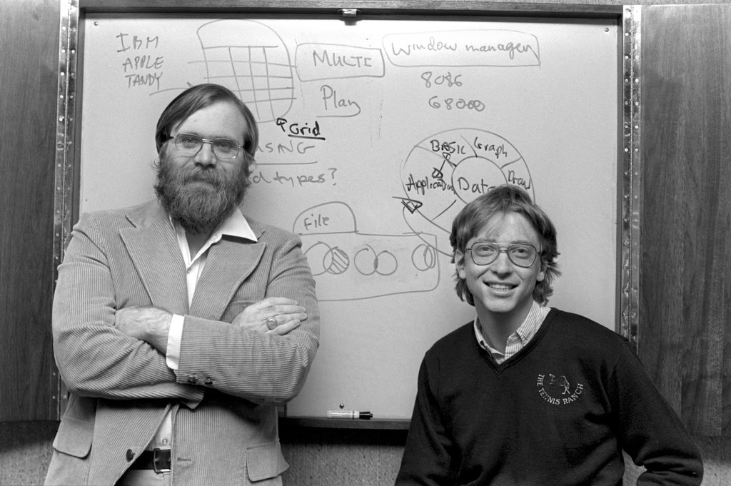 Bill gates and paul