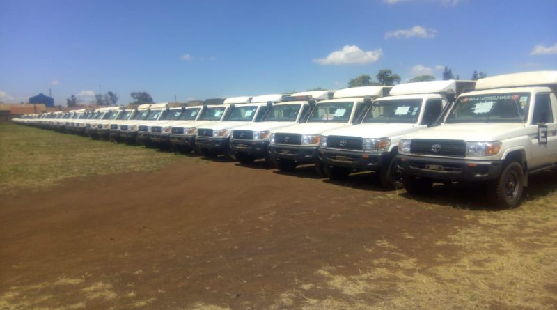 QUIPBANK HANDS OVER EX-LEASE VEHICLES