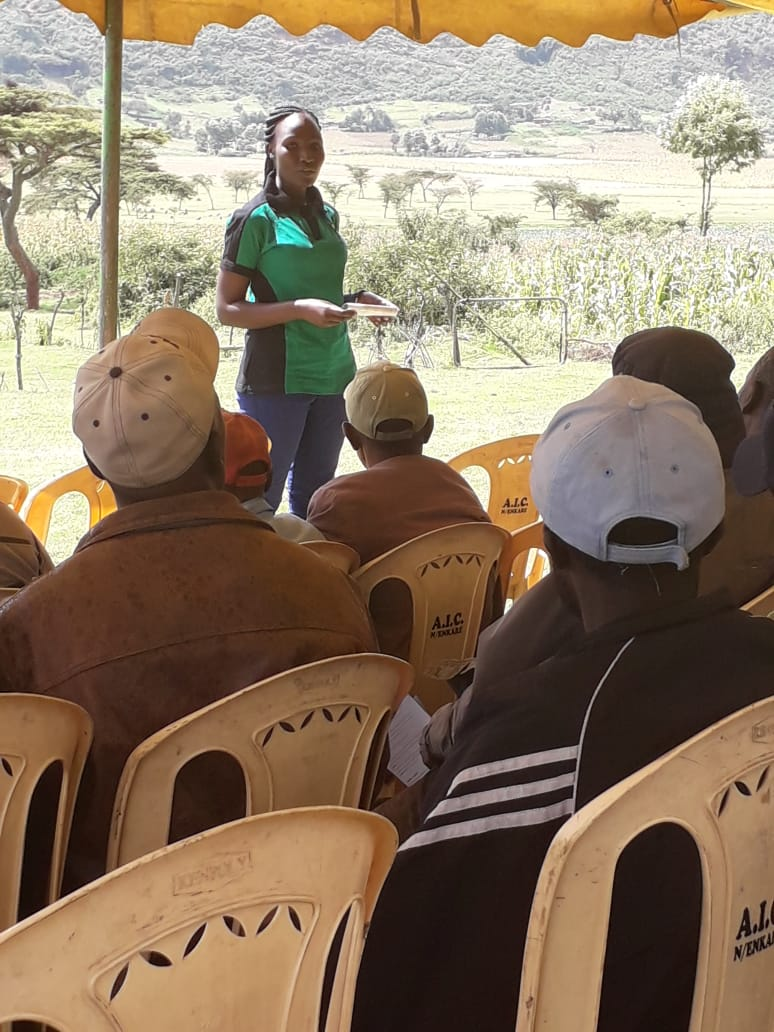 Training of farmers