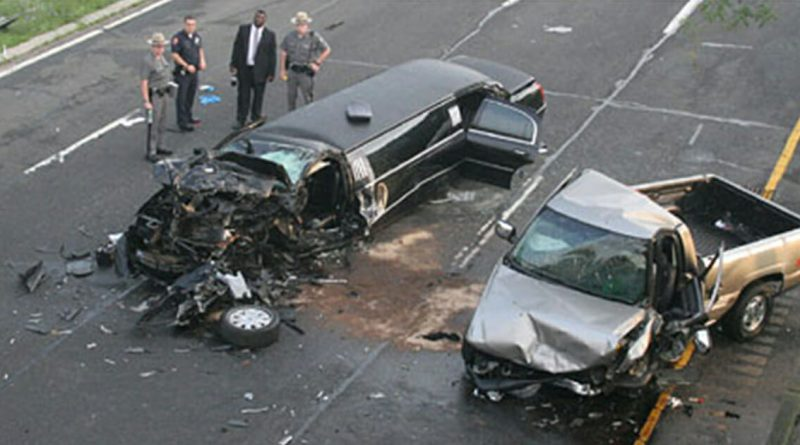 Car wreckages