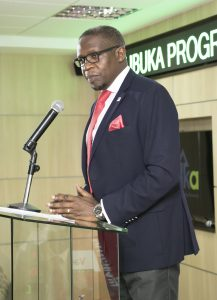 Geoffrey Odundo, NSE Chief Executive Officer