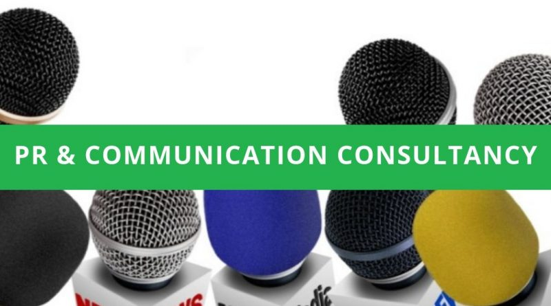 PR & COMMUNICATION CONSULTANCY