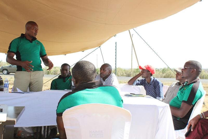 Philip Nyandieka, the General Manager, TingA 2