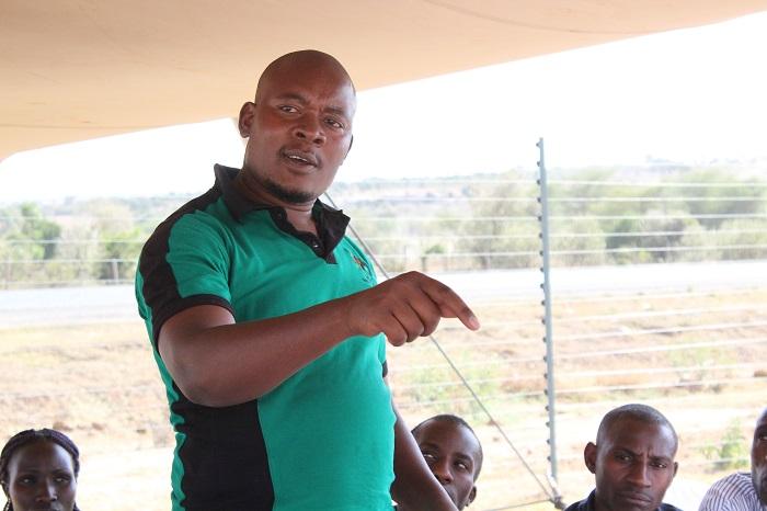 Philip Nyandieka, the General Manager, TingA 3