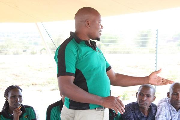 Philip Nyandieka, the General Manager, TingA