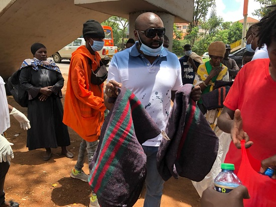 Mwenda thuranira items donation